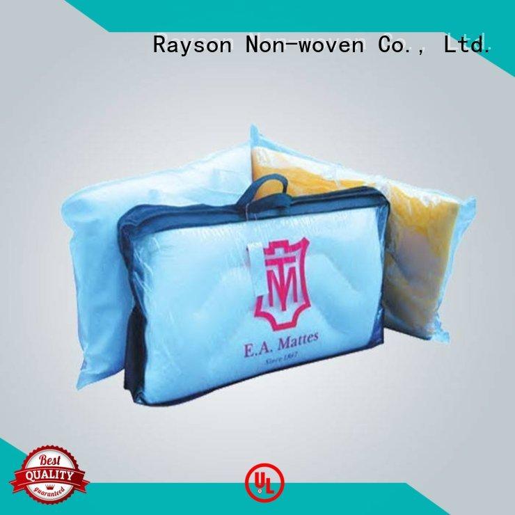 pillow spunbond fabric europe rayson nonwoven,ruixin,enviro company