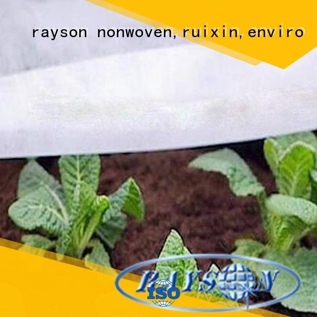 Hot farm landscape fabric drainage breathable rayson nonwoven,ruixin,enviro Brand