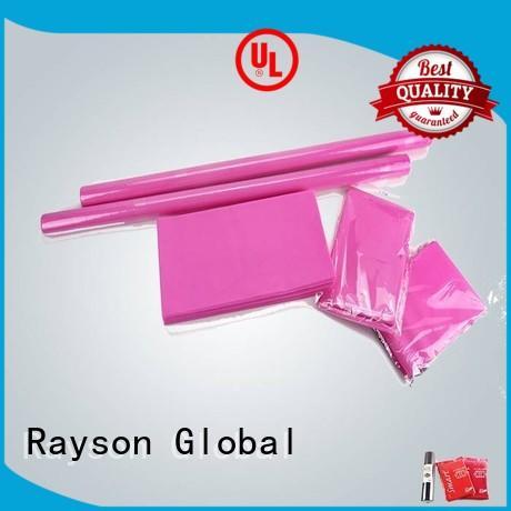 rayson nonwoven,ruixin,enviro Brand 3875gsm certificate non woven tablecloth manufacture