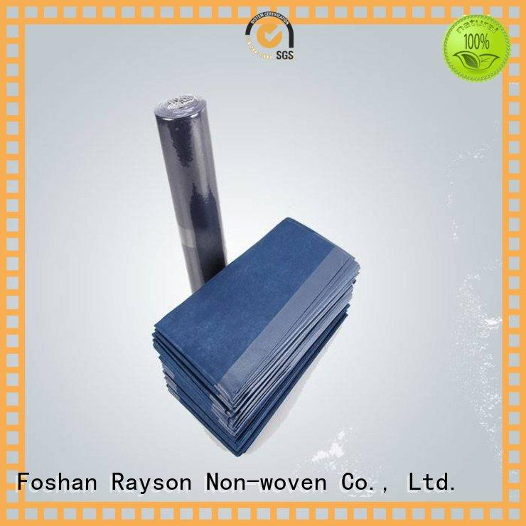 disposable pp non woven fabric manufacturing process color with good price for hospital